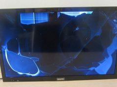 broken tv