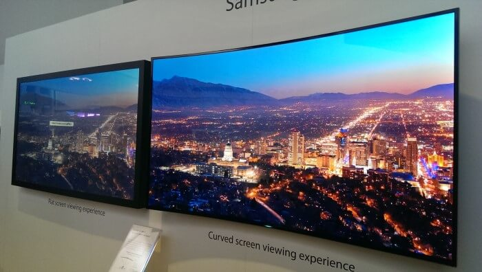 Curved Vs Flat Tv >> Are Curved Led Tvs A Gimmick Cashify Blog