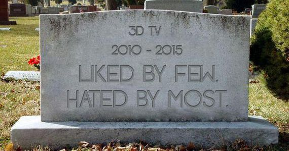 The Death of 3D TVs