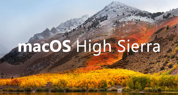 MacOS High Sierra: What's New?