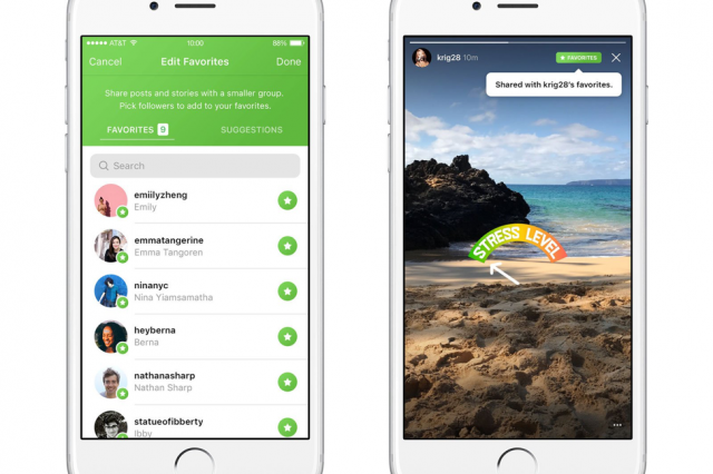Instagram Is Testing A New 'Favorites' Feature