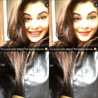 Indian Celebrities Love Snapchat