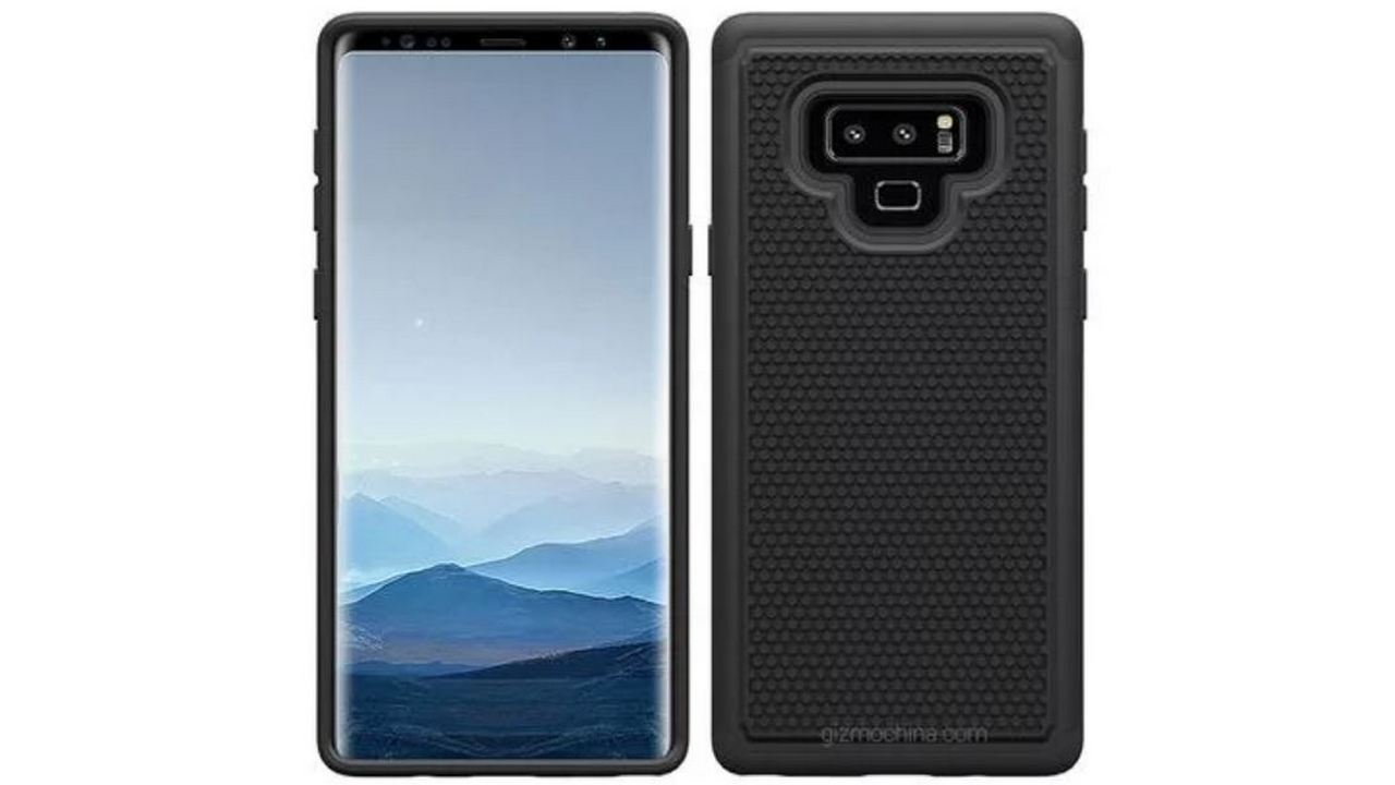 competitive price d0e22 bbd9d Samsung Galaxy Note 9 Case Renders - Cashify Blog