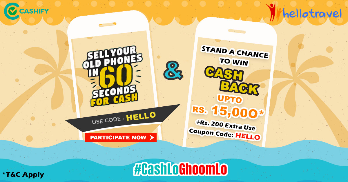 Sell Your Smartphone For Double The Prize, With The Cashify