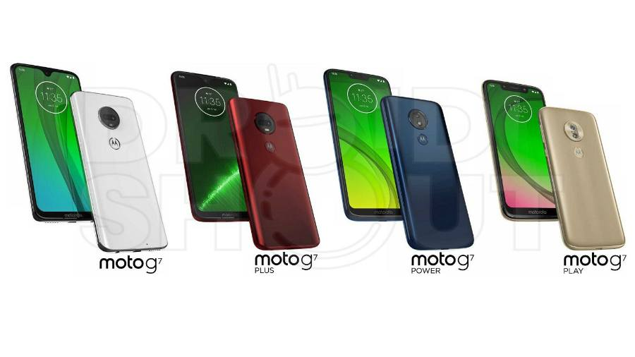 Leaked Moto G7 Series Press Render Reveals Colours, Camera And Design Specs