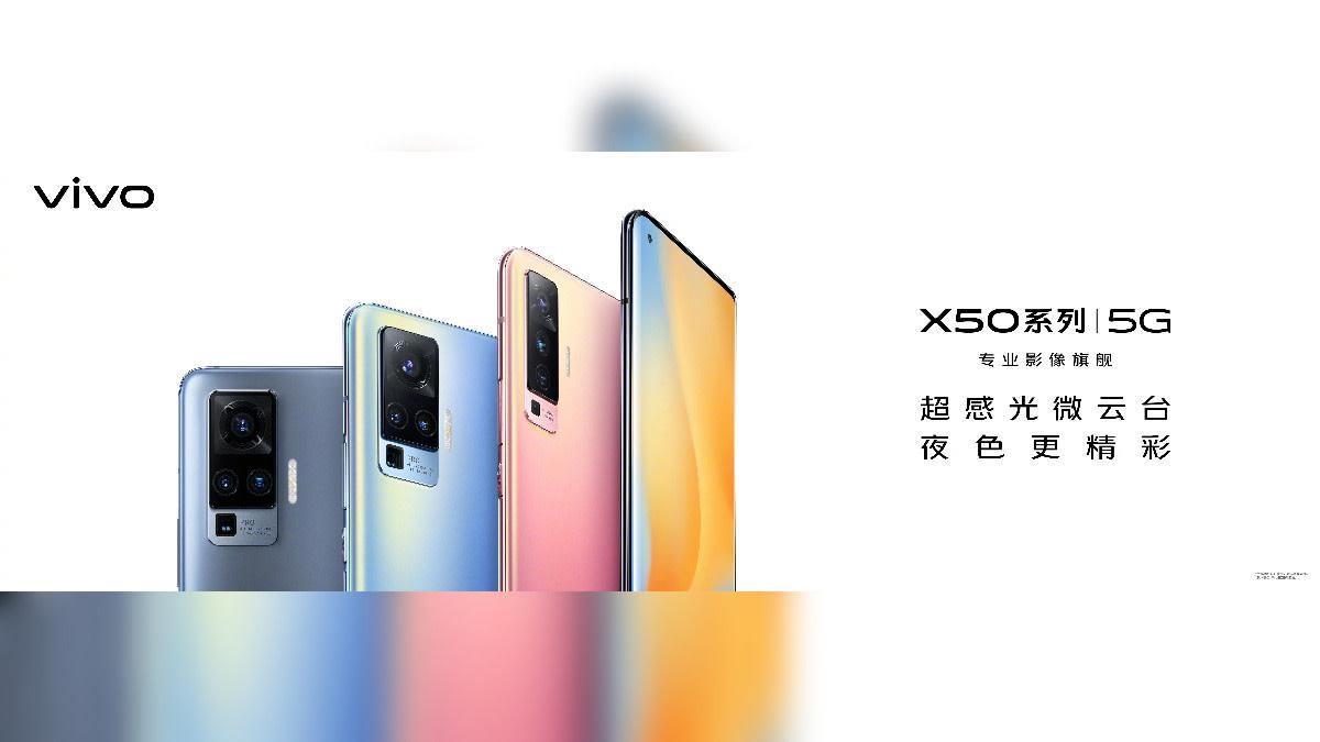Vivo Confirms Colour Options For Upcoming Vivo X50 Series ...