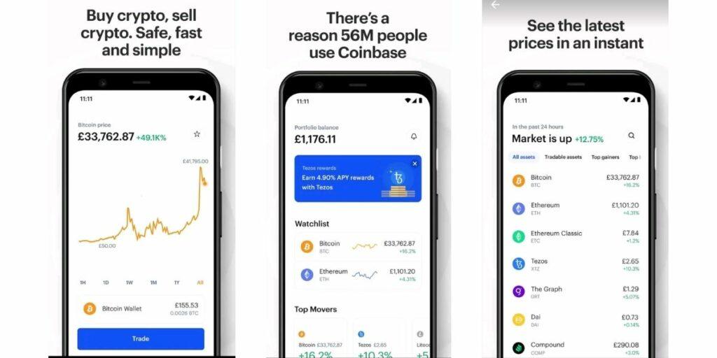 live bitcoin trading app